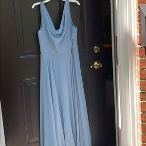 Jenny Yoo Blue Gown